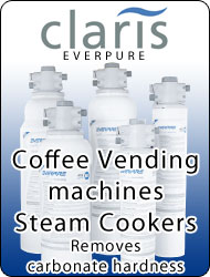 Everpure CLARIS Antiscale watre filters for coffe maker