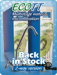 Water Multistage Microfiltration Ecott Everpure 4DC