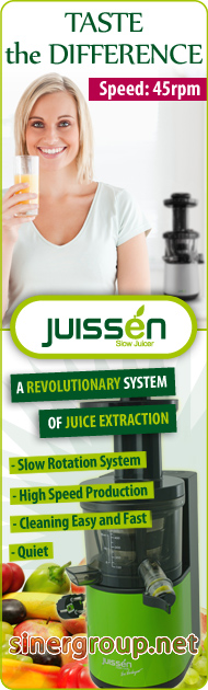 Juissen Juice Extractor Fruits Vegetable Slow Rotation
