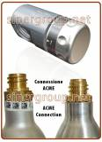 SR-Micro Co2 pressure reducer ACME connection