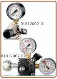 XS Co2 pressure reducer for disposable and rechargeable cylinder