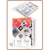 CS Series water softeners A4 glossy coated paper 250gr. printed folded leaflets - ITA./ENG.