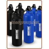 Ionicore aluminum water bottles 800 ml. blue and black