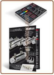 ULTRARAYS UV-C from 4W. at 55W. water systems A4 glossy coated paper 250gr. printed folded leaflets - ITA./ENG.