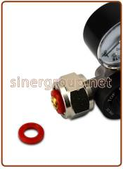 Replacement red gasket for cod. 01012001-01/-02, 01012002-02