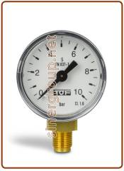 Replacement Co2 pressure gauge Ø40-G1/8 0-6 BAR for cod. 01012001-01/-02, 01012002-01