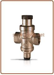 "Water pressure reducer 1/2"" F. F. with gauge coupling"